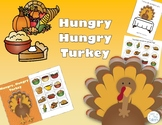 Hungry Hungry Turkey- Thanksgiving Interactive Book and Playdoh Smash Mat