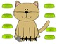 Hungry Kitty  File Folder Subtraction Game
