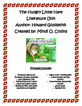 The Hungry Little Hare Literature Unit