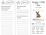 Hungry Little Hare Trifold - Open Court 2nd Grade Unit 4 Lesson 2
