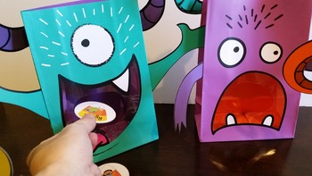 Hungry Monsters Interactive Articulation Activity
