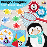 HUNGRY PENGUIN! PRINT & PLAY non-competitive game for colour and shape matching!