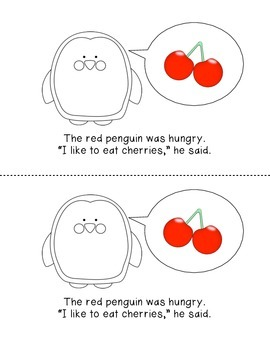 Hungry Penguins: Guided Reading Level C Emergent Reader Mini Book