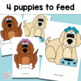 Articulation Activity:Hungry Puppy Early Developing Sounds