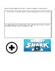 Hungry Shark World Themed Worksheet: 3-digit addition with regrouping