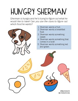 Hungry Sherman- Simple Inferencing