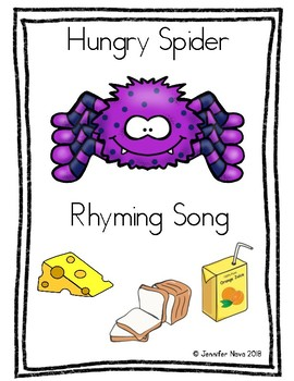 Hungry Spider Rhyming Song
