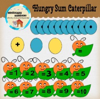 Hungry Sum Caterpillar - Math