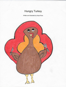 Hungry Turkey Children's Book