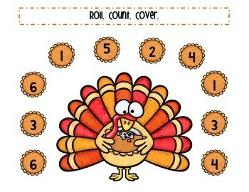 Hungry Turkey Roll and Cover/Color