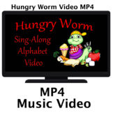 Hungry Worm Alphabet in Motion Video