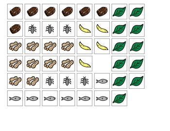 Hungry Zoo Animals Adapted Counting Book