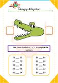 Hungry alligator-Integers comparison