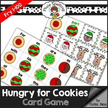 Hungry for Cookies Sight Words Game