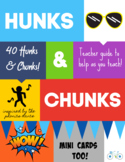 Hunks and Chunks Cards (Inspired by the phonics dance)