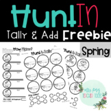 Hunt-In Spring: A Counting Scavenger Hunt Activity
