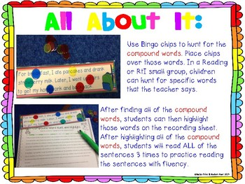 Hunt and Highlight: Compound Words