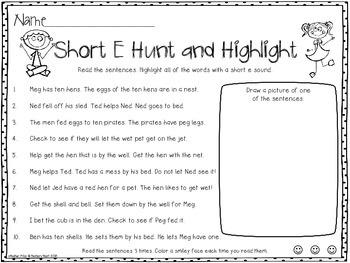 Hunt and Highlight: Short E