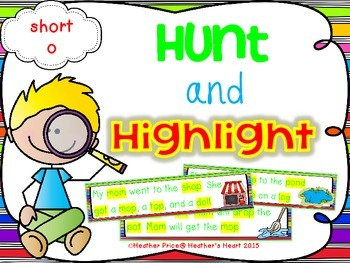 Hunt and Highlight: Short O