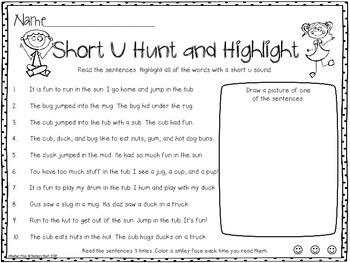 Hunt and Highlight: Short U