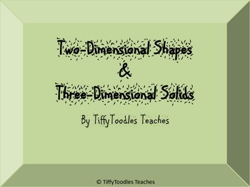 Hunt for Two Dimensional and Three Dimensional Shapes