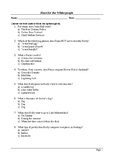 Hunt for the Wilderpeople - MCQ / Final Assessment / Viewing Questions