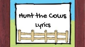 Hunt the Cows {ta, titi, so-mi-do}