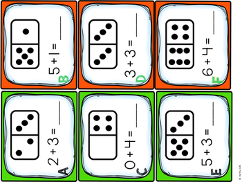 Hunt the Room - Kindergarten MATH activities
