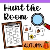 Hunt the Room for Preschool and Kindergarten - Autumn Theme