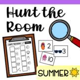 Hunt the Room for Preschool and Kindergarten - Summer Theme