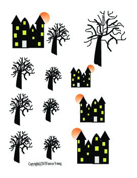 Haunted House and Trees