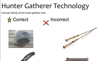 Hunter-Gatherer Smartboard Activities