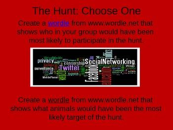 Hunter Gatherers: A Technology-Based Activity