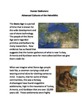 Hunter Gatherers: Advanced Cultures of the Paleolithic