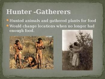 Hunter Gatherers Powerpoint
