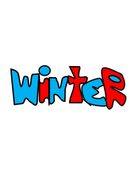 Hunter's Winter Clip Art 2