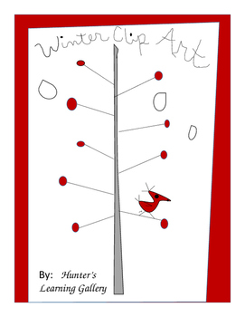 Hunter's Winter Clip Art