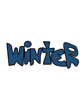 Hunter's Winter Clip Art 3