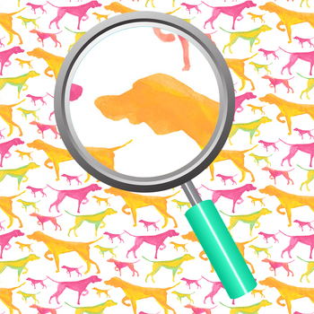 Hunting Dog Handpainted Watercolor Digital Paper / Backgrounds Clip Art
