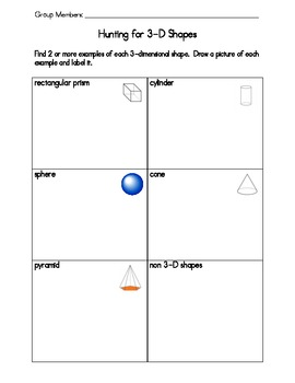 Hunting for 3-D Shapes