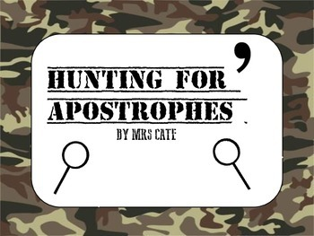 Hunting for Apostrophes