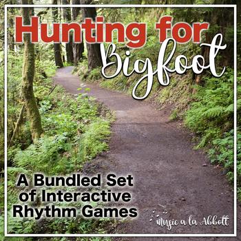 Hunting for Bigfoot, a collection of rhythm games {BUNDLED SET}