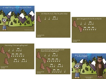 Hunting for Bigfoot, a collection of rhythm games {ta ti-ti}