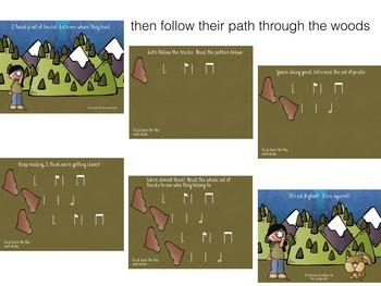 Hunting for Bigfoot, a collection of rhythm games {tam-ti/tom-ti}