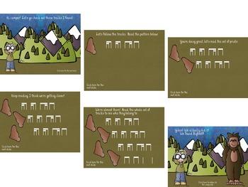 Hunting for Bigfoot, a collection of rhythm games {tika-ti/tiri-ti}