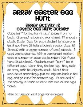 Hunting for Egg Arrays!