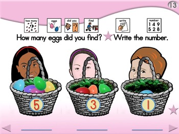 Hunting for Eggs - Animated Step-by-Step Poem - PCS