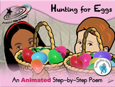 Hunting for Eggs - Animated Step-by-Step Poem - SymbolStix