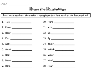 Hunting for Homophones