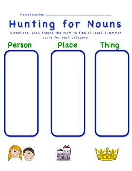 Hunting for Nouns